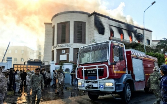 [Newsmaker] IS-claimed attack on Libya foreign ministry kills at least three