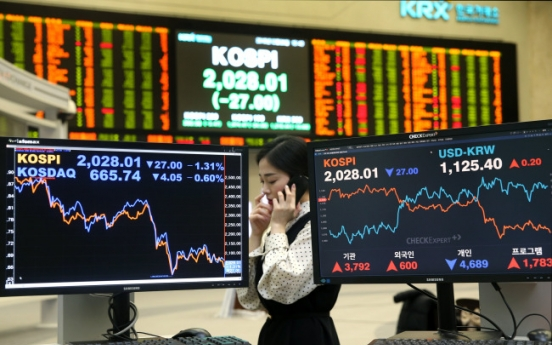 Korean stocks drift lower on Trump fears