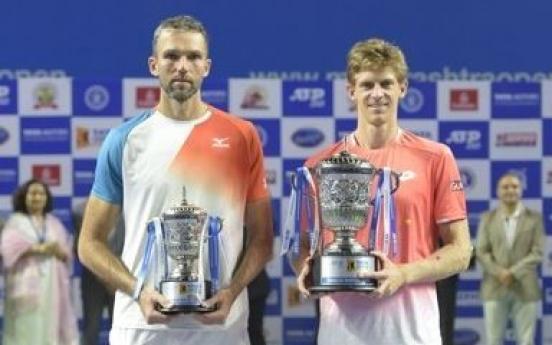 둘이 합쳐 414㎝…역대 최장신 테니스 결승전 승자는 앤더슨