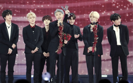 [K-talk] BTS wins 6 awards at GDA including Daesang