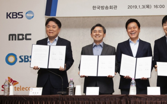 Will coalition of SK Telecom, media giants be a match for Netflix?