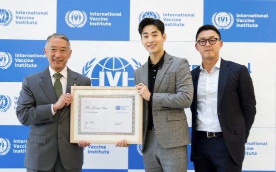 Henry appointed Goodwill Ambassador for International Vaccine Institute