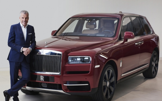 [Herald Interview] Rolls-Royce Motor CEO attributes record sales to Asia, Korea