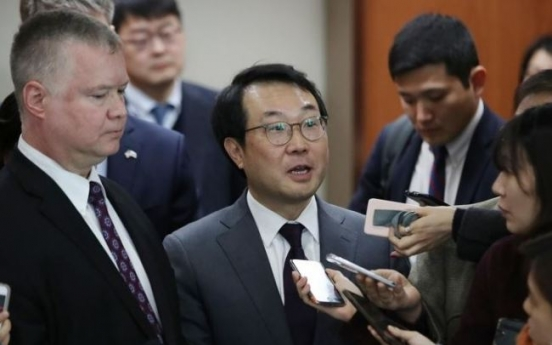 Nuclear envoys of S. Korea, Japan hold phone call