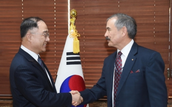 S. Korea calls for auto tariff relief from US