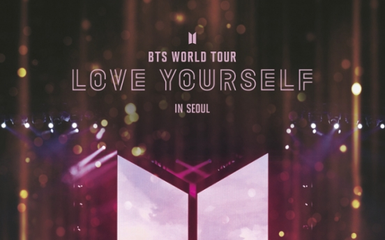 [K-talk] BTS' 'Love Yourself' concert documentary to hit cinemas Jan. 26 as one-day event