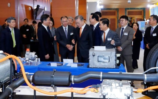 Korea to produce 6.2 million hydrogen cars by 2040