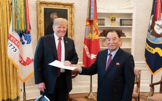 Two Koreas and US officials gather in Stockholm to develop agenda for Trump-Kim summit