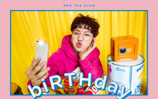 [K-talk] Roh Tae-hyun of Hotshot unveils tracklist for solo EP 'biRTHday'