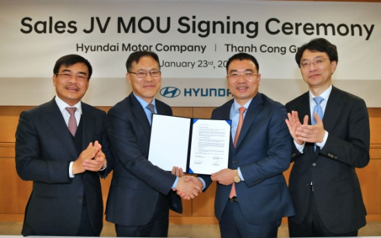Hyundai Motor to set up joint sales venture in Vietnam