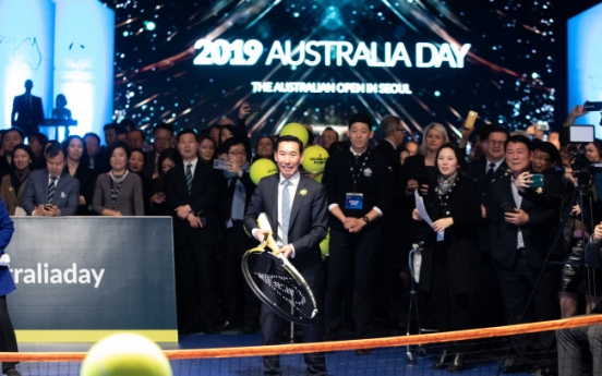 Australian Embassy marks national day