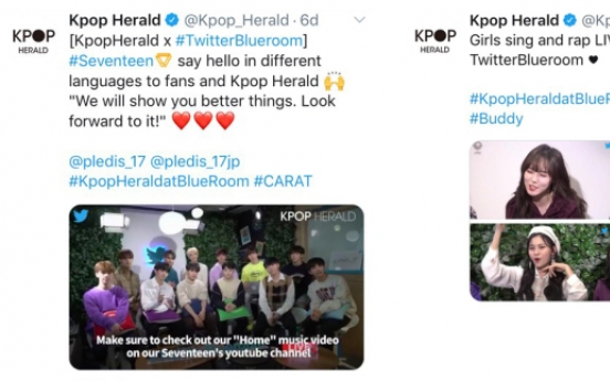 Kpop Herald joins Twitter's K-pop push