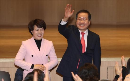 [Newsmaker] Firebrand politician Hong Joon-pyo seeks second term as conservative party leader