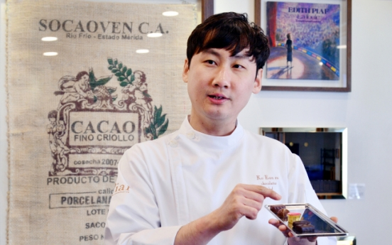 [Herald Interview] 'Chocolate is all about love after all'