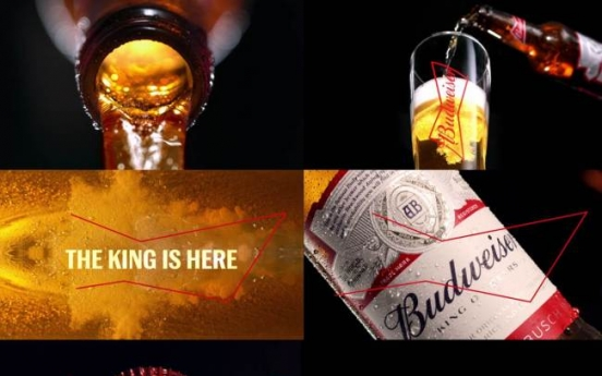 Budweiser releases new slogan: King of Beers
