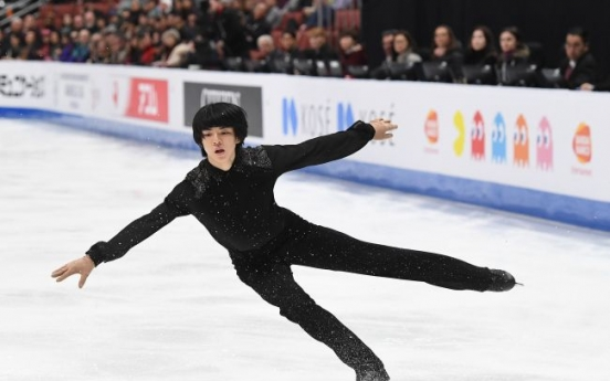 Cha Jun-hwan finishes 2nd in short program with personal best at Four Continents