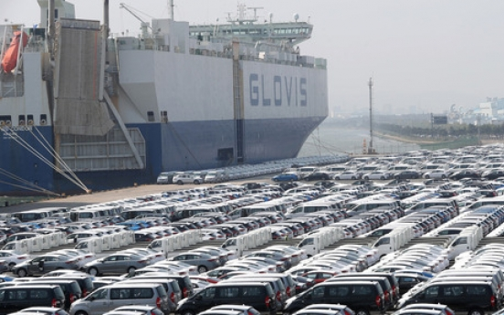 South Korea's automobile production slips 2.1 percent