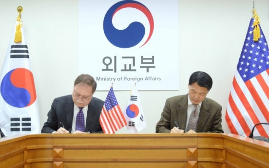 South Korea, US ink provisional defense cost-sharing pact