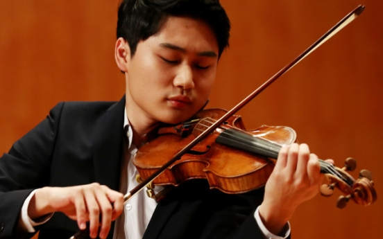 From Sibelius to Brahms, upcoming violin performances in Seoul