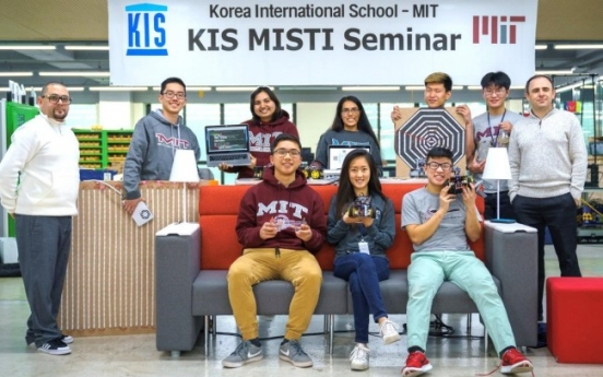 KIS holds scientific technology seminar with MIT students