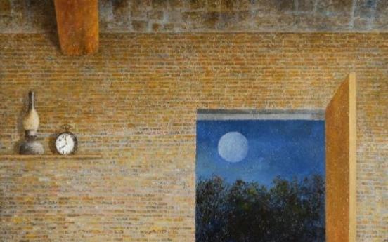 Mezzotint artist Hwang Kyu-baik's oil paintings on show in Seoul