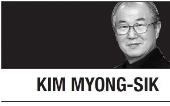 [Kim Myong-sik] Park's political gambit may upset conservative front
