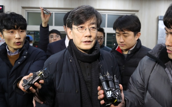 JTBC chief endures 19 hours of police questioning
