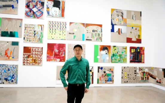 Versatile artist Bek Hyun-jin's latest paintings shown at PKM Gallery