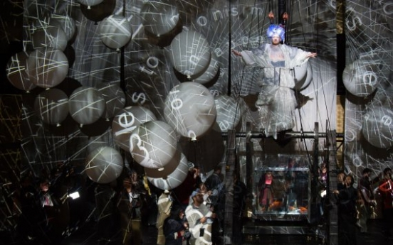 Haydn's 'Creation' to feature wire, water tank and video mapping