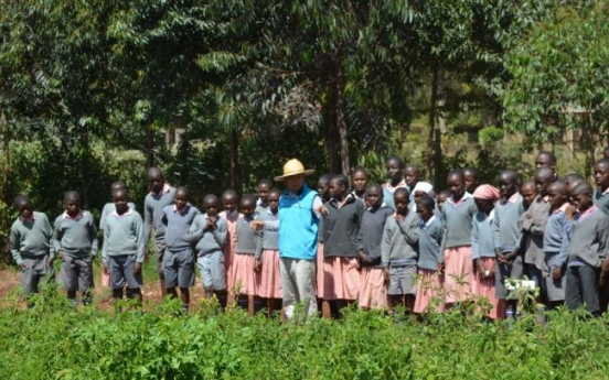 [Herald Interview] Gates Foundation, UN acknowledge Korea's school farm in Kenya