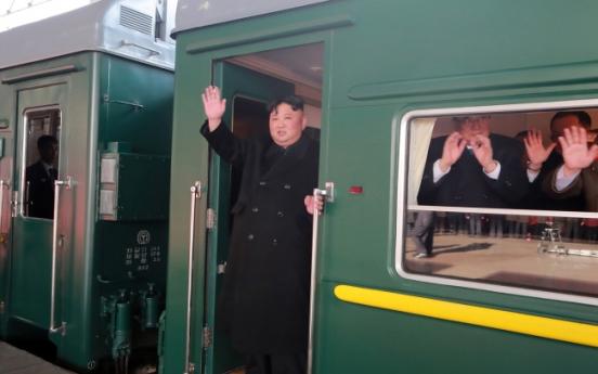 Why is Kim taking 60-hour train trip?