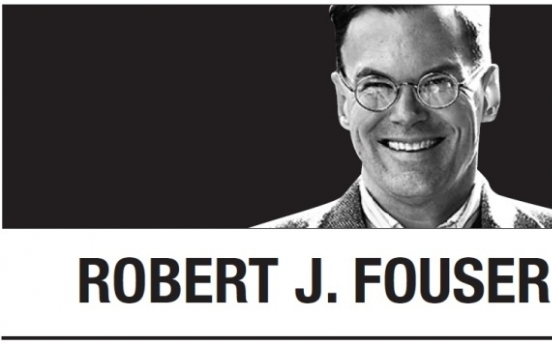 [Robert J. Fouser] Focusing on what works with North Korea