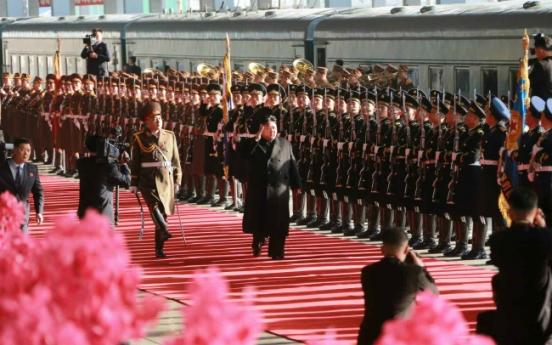 Chairman Kim goes to Hanoi
