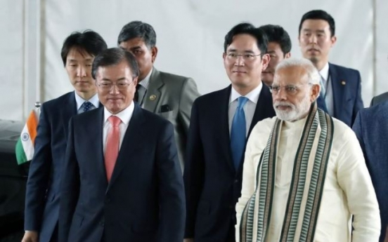 S. Korea-India economic ties need more heft