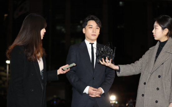 BIGBANG's Seungri denies drug, sex-for-favors allegations in police questioning