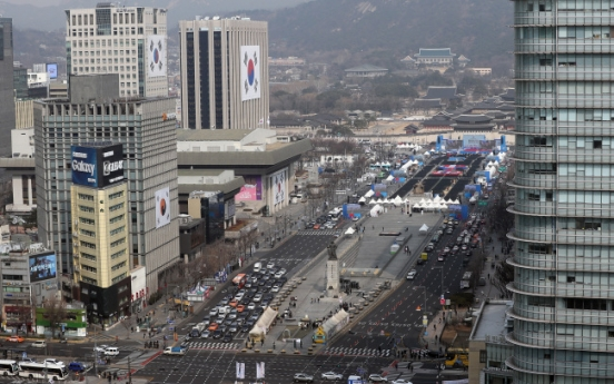 Public advised to take public transportation as March 1 Movement re-enacted downtown Seoul