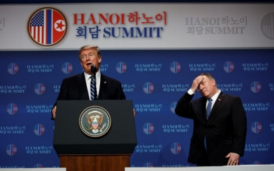 Trump hints US, NK have different visions for denuclearization