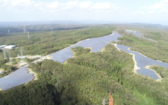 Construction of LSIS' 3rd large solar plant completed in Japan