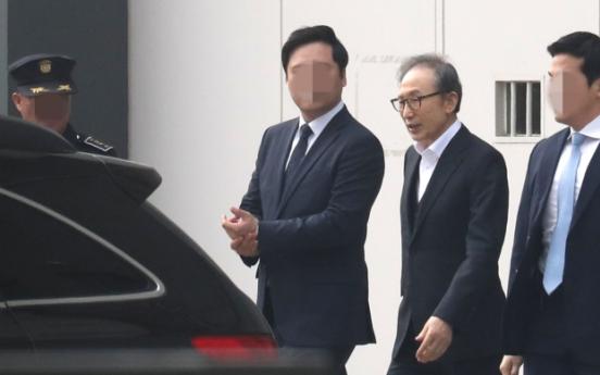 [Newsmaker] Former President Lee Myung-bak released on bail