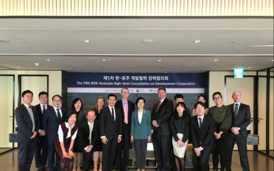 [Diplomatic circuit]  Korea, Australia hold development cooperation consultations