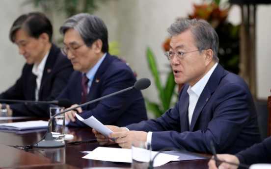 Moon calls for thorough investigation of past, current scandals