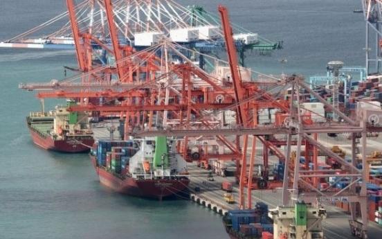S. Korea sees sharper drop in exports than OECD peers