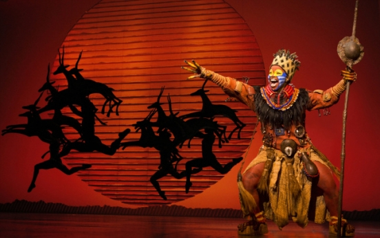 'Lion King' to perform in Busan for another week