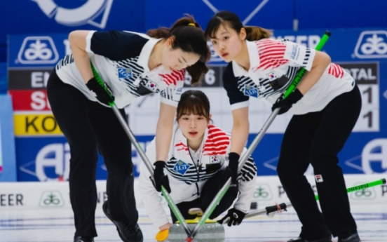 S. Korean women's curling posts highest-ever position for Asian team in world rankings