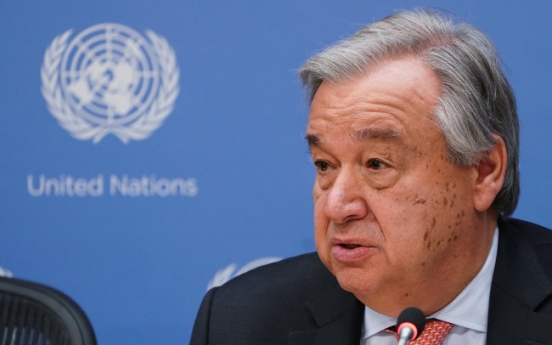 UN chief vows continued support for Korea peace process