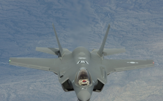 Two F-35A stealth fighters arrive in South Korea for first time