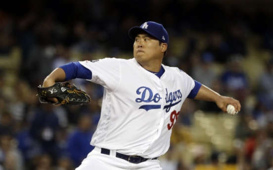 Dodgers' Ryu Hyun-jin earns 2nd win of season vs. Giants