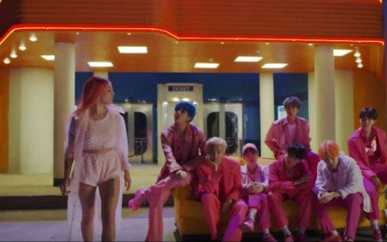 BTS releases teaser video of new album's main track featuring Halsey