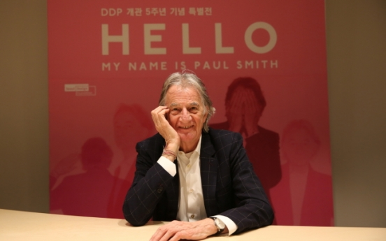 [Herald Interview] 'Fashion is about trends. Paul Smith is about individuality'
