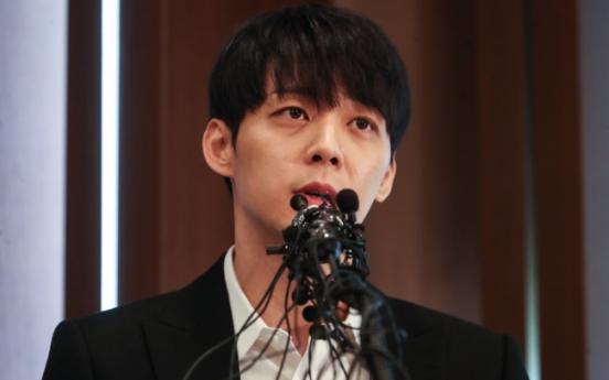 [Newsmaker] JYJ member Park Yu-chun denies drug rumors